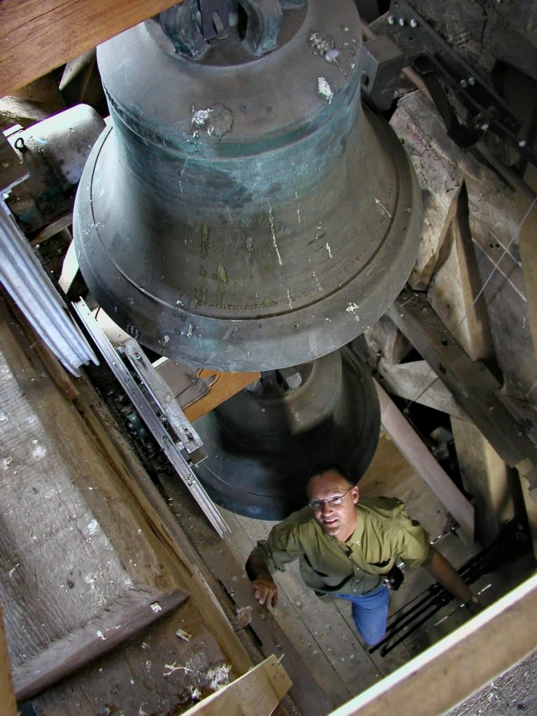 uetersen, kirche, glockenturm, mit dirk jonkanski, 2001