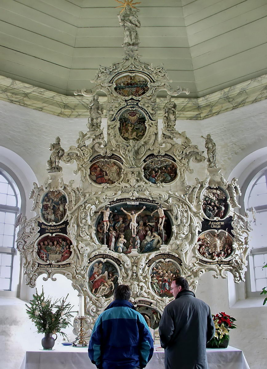 brunsbüttel, HEI, kirche, altar (mit drik jonkanski), 2002